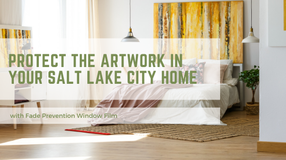 artwork fade prevention window film salt lake city